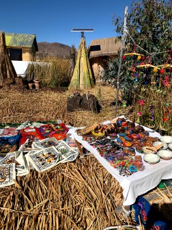 Uros Islands Artisan Market.